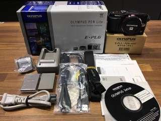 🚚 曙光數位 EPL-6 Body 單機身 /  公司貨 / 雙電池