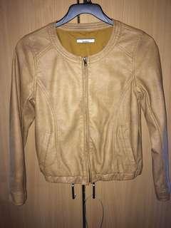 🚚 OLIVEdes leather jacket