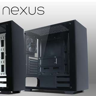Tecware Nexus Black Tempered Glass ATX Casing