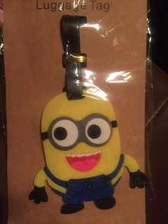 Minion travel tag
