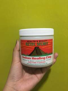 Authentic aztec indian healing clay