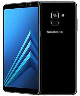 samsung A8+(2018) 正行黑色 95%新 全套有單有盒有貼