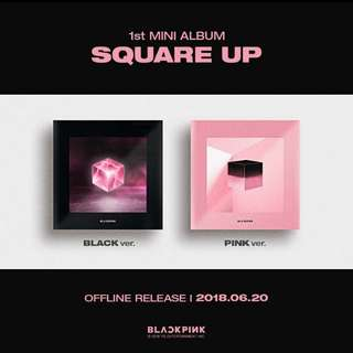 [EARLY WTT] BLACKPINK SQUARE UP ALBUM PC