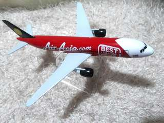 AIR ASIA DIECAST AIRPLANE MODEL 16CM