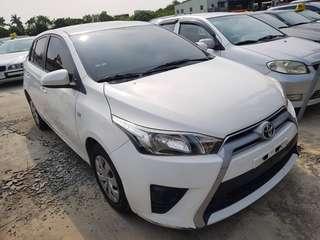 2016年Toyota yaris