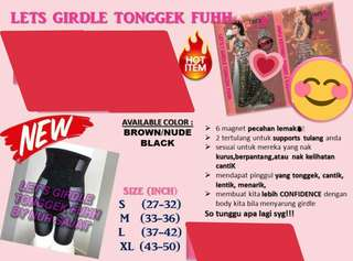 🚚 READY STOCK💕LET'S GIRDLE TONGGEK FUHH by Nur Sajat.  Processing proceed upon full payment received via bank transfer.