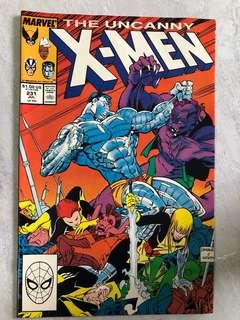 Original Uncanny X- Men 231