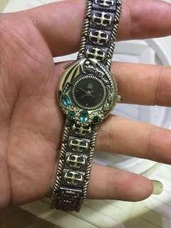 17cm 某牌子 银手表 不议价 working