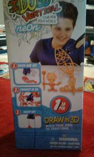 I do 3-d Vertical your pen your world
