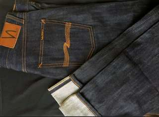 Nudie jeans selvadge