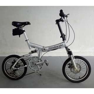 Monotine Folding Bike