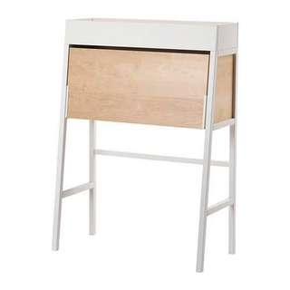 IKEA PS 2014 Secretary Desk in White Birch Veneer