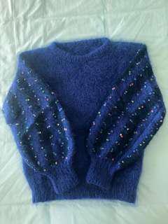 Mohair knit jumper