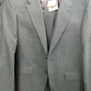 Authentic Burberry Suit (Grey/black with pattern)全套連褲