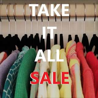 Take It All Bundle for Pre-loved Clothes Resellers