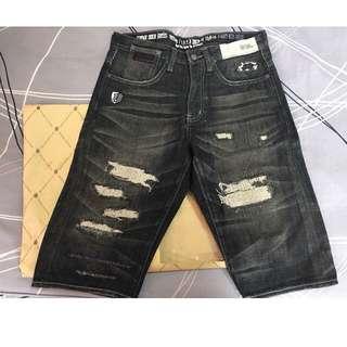 REPUTATION ㄧ代 破壞 牛仔 短褲