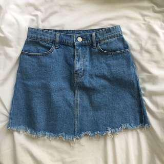 Brandy Melville Denim Skirt