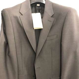 Authentic Burberry Suit 全套連褲 (Grey) 灰色 44R