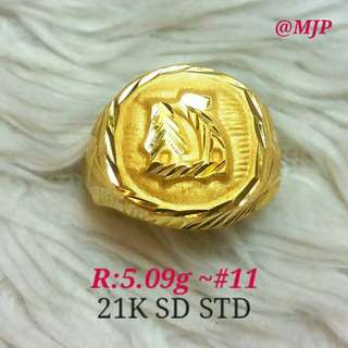 ring for men authentic gold ring (saudi)