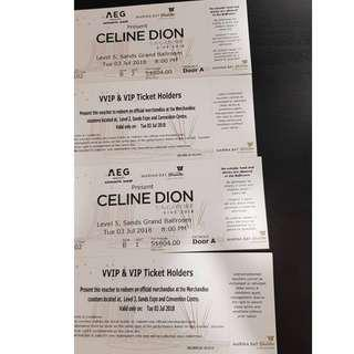 Celine Dion 2018 Singapore