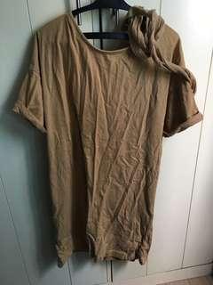 Zara Trafaluc Shirt Dress with Belt