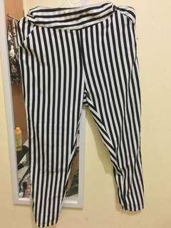 Preloved Stripe Pants