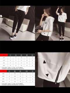 2018韓版新款夏季時尚兩件套裝🌟包郵