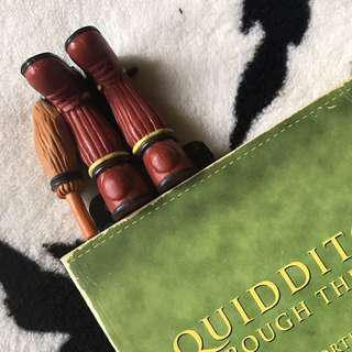 (Restocked) Harry Potter Quidditch Shoes and Broom 3D Bookmark