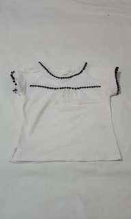 Carter's white blouse