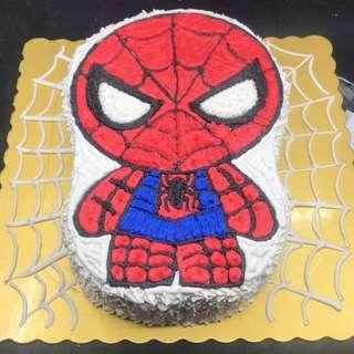 蜘蛛俠蛋糕 兩磅