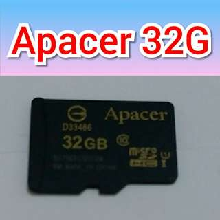 🚚 Apacer 32G記憶卡