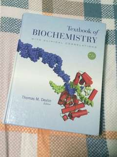 TEXTBOOK OF BIOCHEMISTRY (DEVLIN)
