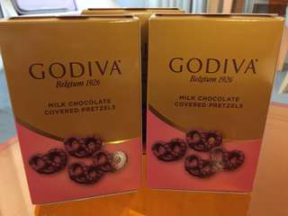 全新 Godiva 朱古力 $38 一盒 $70 兩盒