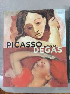 Picasso Looks at Degas art book