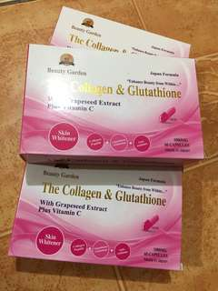 COLLAGEN,GLUTATHIONE WITH GRAPESEED EXTRACT