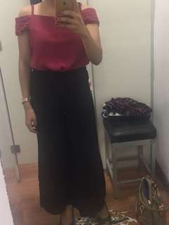 Xara Red Blouse