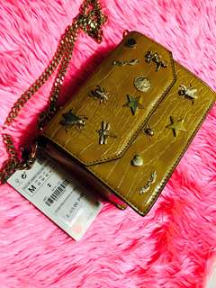 👜ZARA BAG (with Gold Chain)