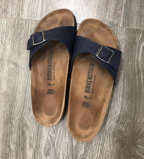 Birkenstock Blue Madrid (One Strap)