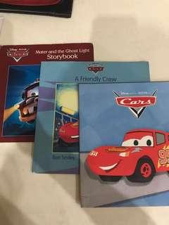 Cars set of 3 storybook
