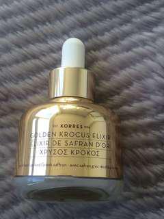 NEE Korres Golden Krocus Ageless Saffron Elixir