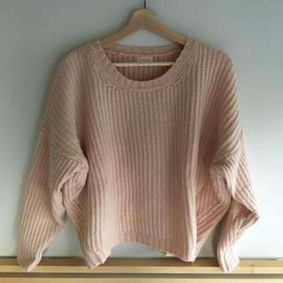 GORMAN pink knitted jumper – size 10