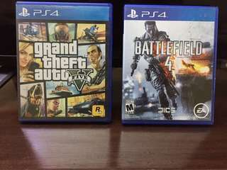 GTA V and Battlefield 4