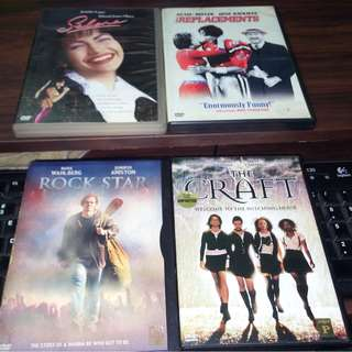 Lot of 4 Region 3 dvd's for the price of 1