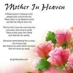 My Mother Passed Away.