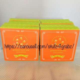 Shanghai Tang Mandarin Tea Perfumed Facial Soap 30g