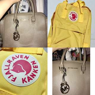 Michael Kors & Kanken Mini Bundle