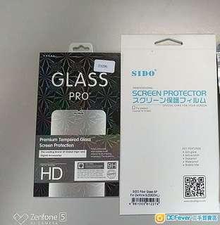 全新 Asus Zenfone 5 / 5z (2018) 配件:保護套(透明氣墊包邊) 及玻璃保護貼