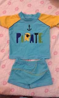 Baby Rush Guard-Preloved