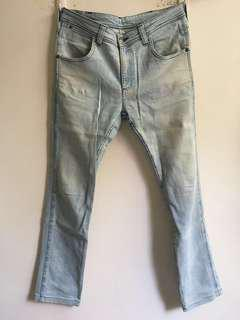 Wrangler Jeans Light blue 藍哥復古藍
