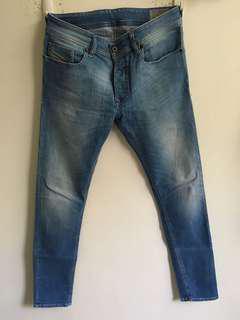 Diesel Jeans Sleenker light blue 柴油褲
